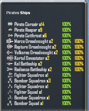 Pirate Base Ships